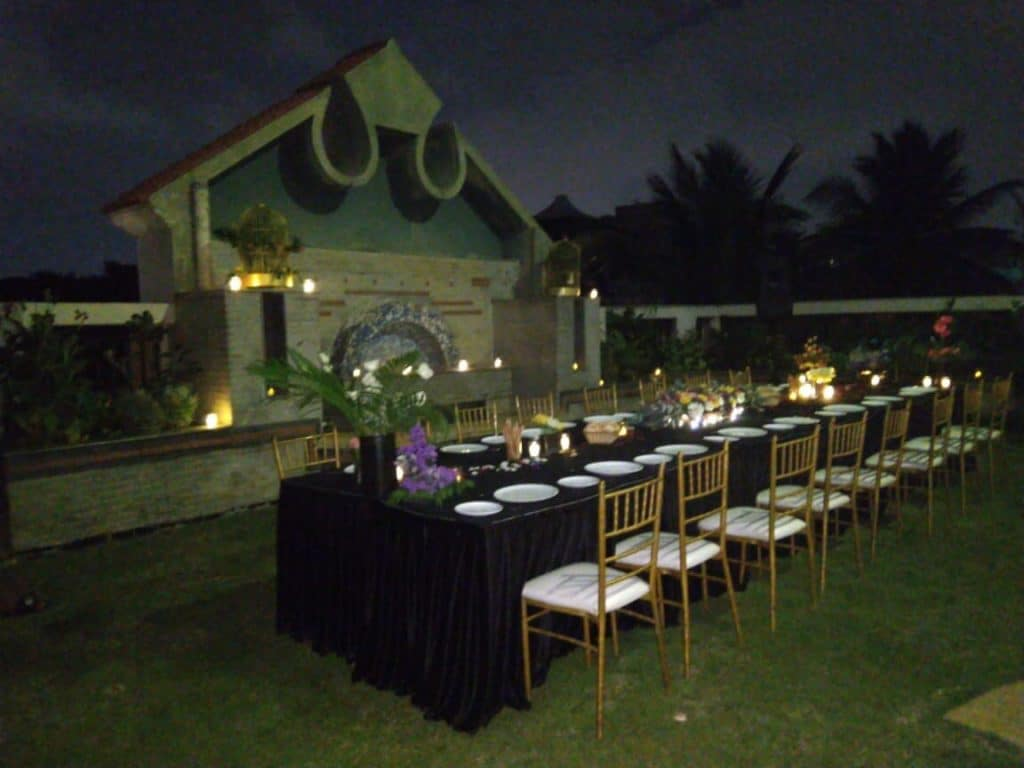 Night Terrace Private Dinner ITIS Suites & Club