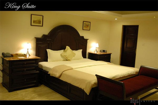 Hote Rooms in ITIS Luxury Suites in Bangalore